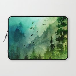 Mountain Morning Laptop Sleeve