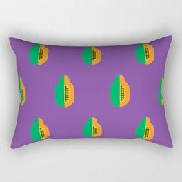 Fruit: Papaya Rectangular Pillow