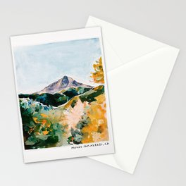 Mount Tam Marin County California Stationery Cards