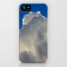 Wild Blue Yonder iPhone Case