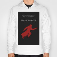 blade runner Hoodies featuring BLADE RUNNER by tanman1