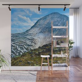 Pyramid Mountain in Jasper National Park, Canada Wall Mural