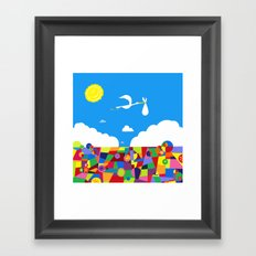 Up! Nursery Art Framed Art Print