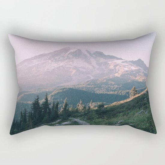 Mt. Rainier National Park Rectangular Pillow