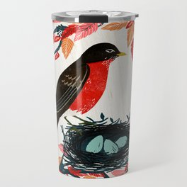 Robin's Nest by Andrea Lauren  Travel Mug