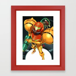Primed Framed Art Print