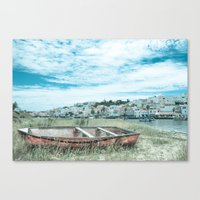 portugal Canvas Prints featuring Portugal by Sandy Broenimann