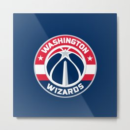 WashingtonWizards Logo Metal Print