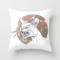 Bastet Unrequited Throw Pillow