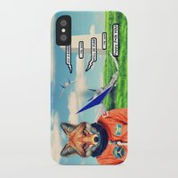 starfox iPhone & iPod Cases featuring Starfox - F*CK YOU PEPPY! by John Medbury (LAZY J Studios)