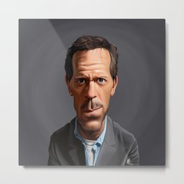 Celebrity Sunday ~ Hugh Laurie Metal Print