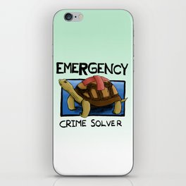 Clyde the Emergency Crime Solver! iPhone Skin
