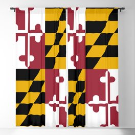 State flag of Flag Maryland Blackout Curtain