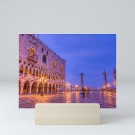 Piazza San Marco and Palazzo Ducale Mini Art Print