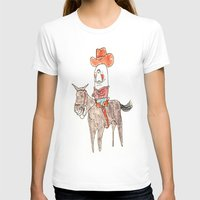 manatee T-shirts featuring Manatee Cowboy by withapencilinhand