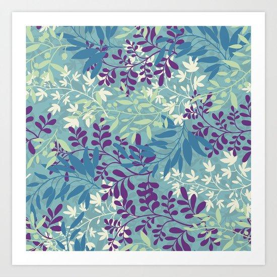 Seasons - spring Art Print