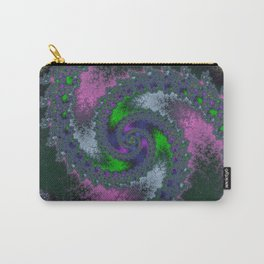 Fractal Twist Carry-All Pouch