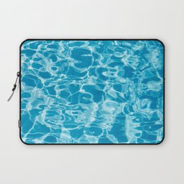 Geometric Pool Me - Retro Pool - Laptop Sleeve