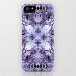 Inverse Fern Reflection iPhone Case
