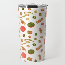 Old Fashioned Boiled Sweets: Alternate Colour by Chrissy Curtin Travel Mug