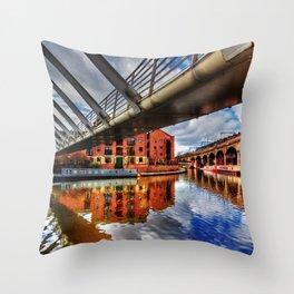 Castlefield Junction Throw Pillow
