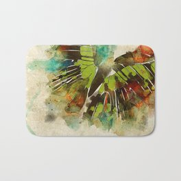Butterfly Flight Bath Mat