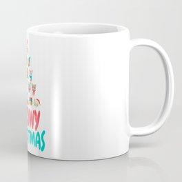 Meowy Christmas   Cat Xmas Tree Decoration Coffee Mug