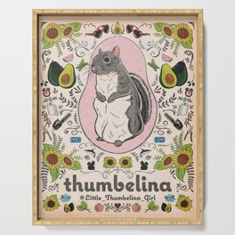 Little Thumbelina Girl: Thumb's Favorite Things in Color Serving Tray