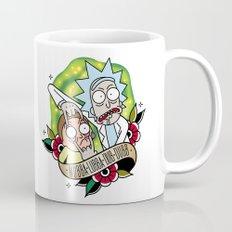 Traditional Rick and Morty  Mug
