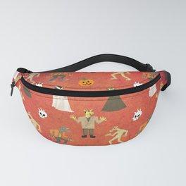 Unicorn Halloween Pattern Fanny Pack