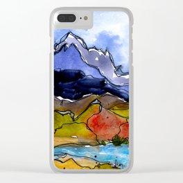 Landscape November 20 Clear iPhone Case