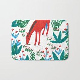 Red Horse Bath Mat
