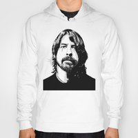 dave grohl Hoodies featuring DAVE... by mabuna
