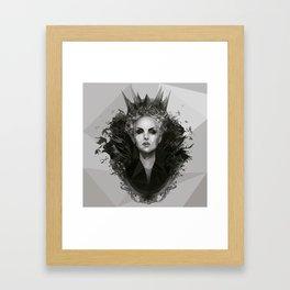 Snow white Witch Framed Art Print