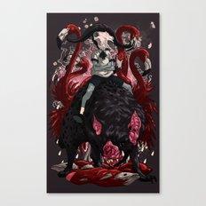 Walker Canvas Print