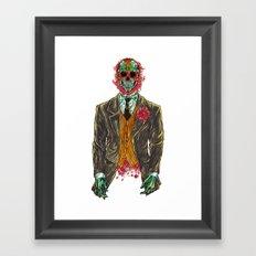 El Senador Es  Vivo  Framed Art Print