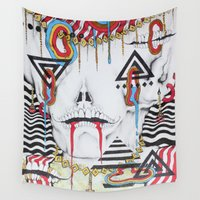 gypsy Wall Tapestries featuring Gypsy Witch by cahill wessel