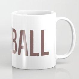 Baseball Typography Coffee Mug