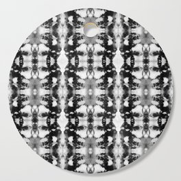 Tie-Dye Blacks & Whites Cutting Board