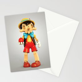 Skull Pinocchio Stationery Cards