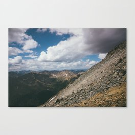Ascending Mt. Massive Canvas Print