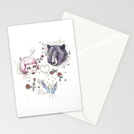 The Stars Fell Into My Hands Stationery Cards