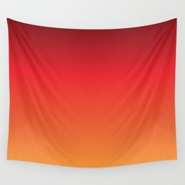 Hot Pepper Gradient Wall Tapestry