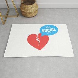 SOCIAL MEDIA Rug