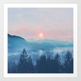 Pastel vibes 12 Art Print