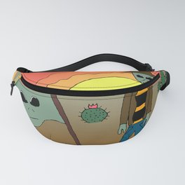 A Martian Discovery Fanny Pack