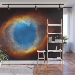 The Helix Nebula or NGC 7293 in the constellation Aquarius. Wall Mural