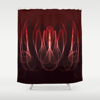 math Shower Curtains featuring Invisible Math by Rabassa