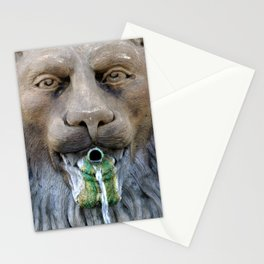 Lion Fountain Stationery Cards