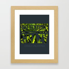 Go texture crazy Framed Art Print